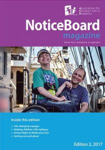 Cover of the Notice Board magazine from the 2010s